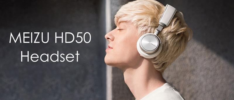 распродажа наушников Meizu HD50