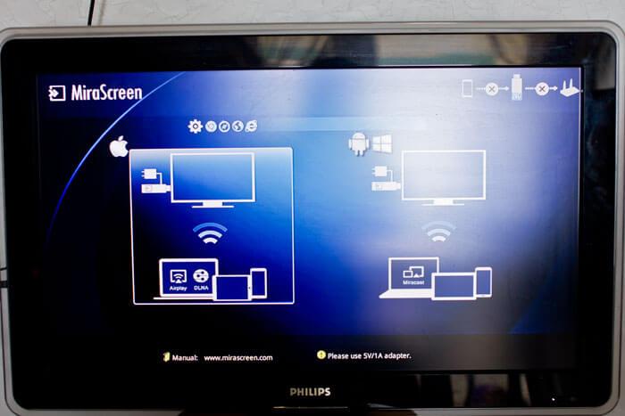 настройка сети mirascreen на телевизоре