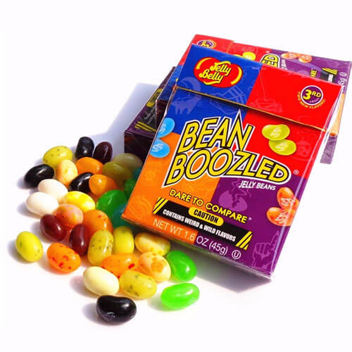 заказать конфеты Bean Boozled на алиэкспресс