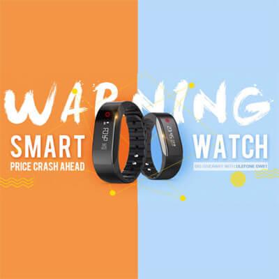 подборка популярных умных часов и браслетов в магазине Gearbest