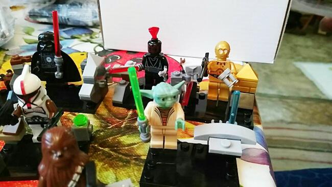 йода и дарт вейдер конструктор лего