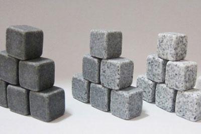 каменные кубики для охлаждения напитков