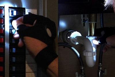 фонарь перчатка с aliexpress
