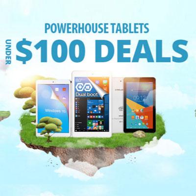 планшеты дешевле $100