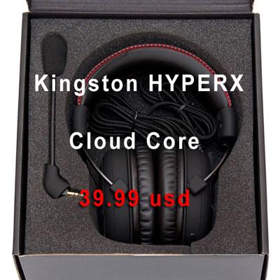 купить Kingston HYPERX Cloud Core