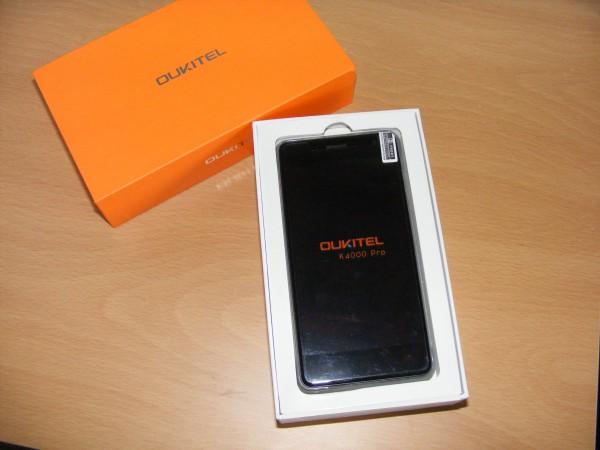 обзор Oukitel k4000 pro