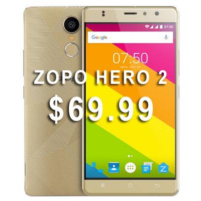 акция на смартфон ZOPO HERO 2
