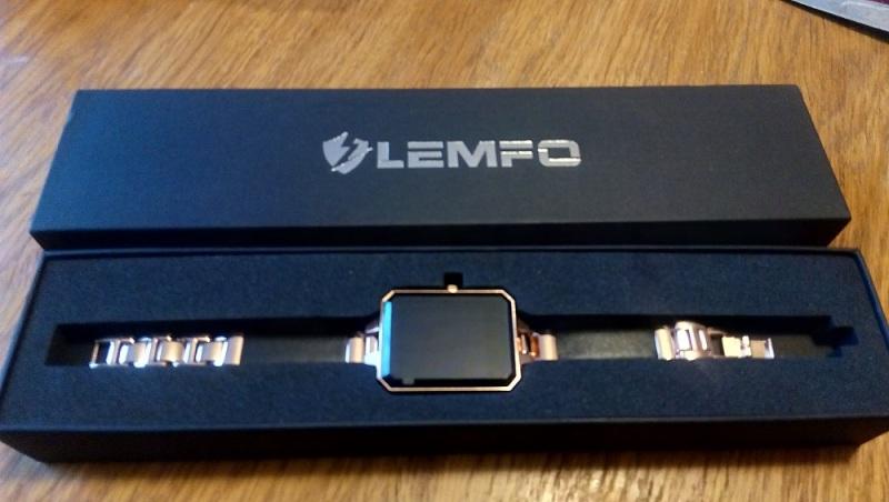 коробка2 часы Lemfo LEM2