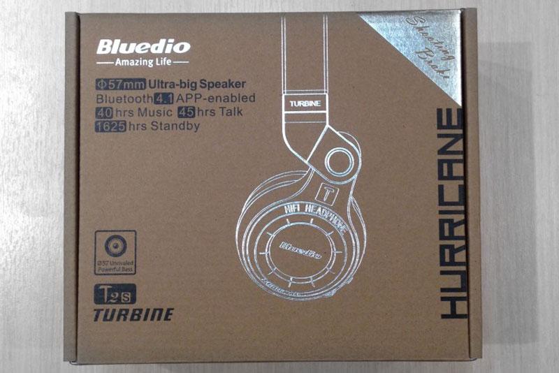 упаковка bluedio t2s