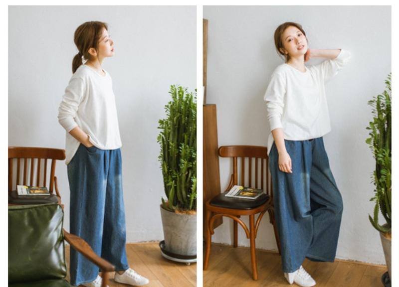 женские джинсы мешком