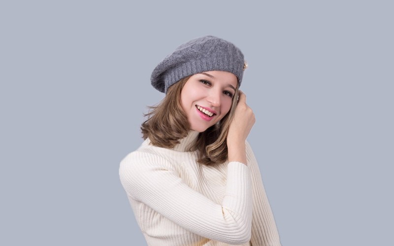 шапка берет