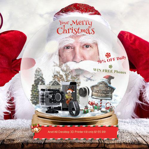 Рождественская распродажа на Gearbest