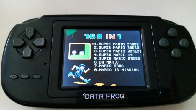 игровая консоль Data Frog