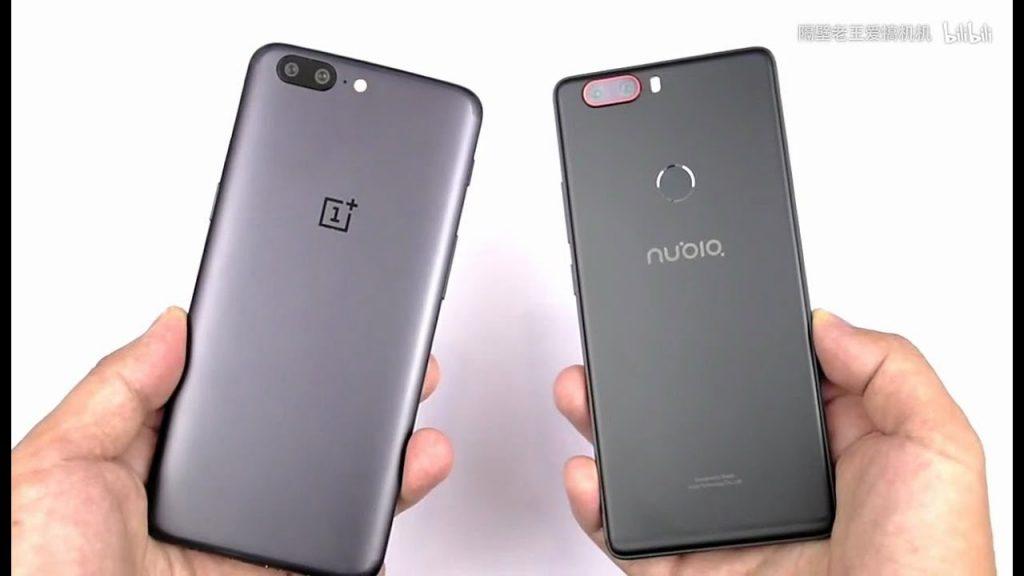 OnePlus 5 vs Nubia z17