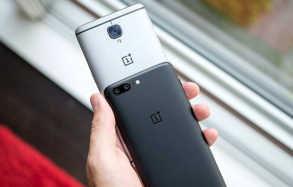 смартфоны OnePlus 5 и OnePlus 3t