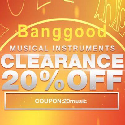 Купоны 7%, 12% и 20% от магазина Banggood