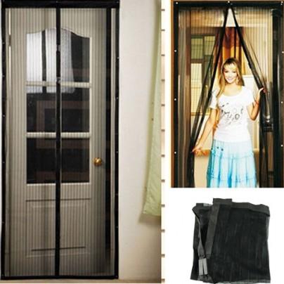 Москитная сетка на магнитах для входной двери