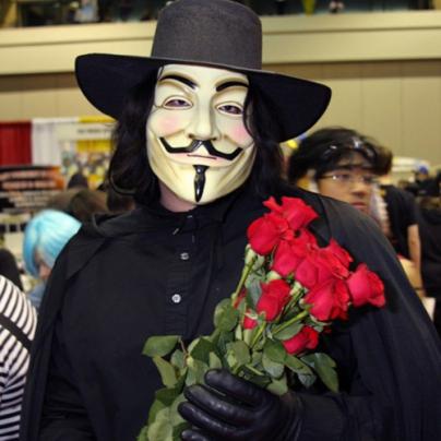 Забавная маска Anonymous