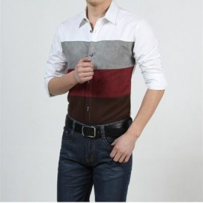 Стильные мужские рубашки на АлиЭкспресс