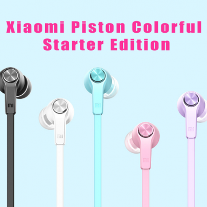 Самые дешевый наушники в линейке Xiaomi (Piston Colorful Starter Edition)