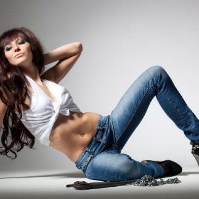 Стильные женские джинсы на АлиЭкспресс
